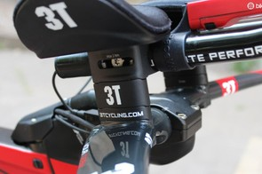 The 3T bar offers a wide range of fit possibilities, but it's not exactly a quick adjustment to tweak things