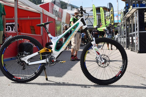 Troy Brosnan's Specialized S-Works Demo 8