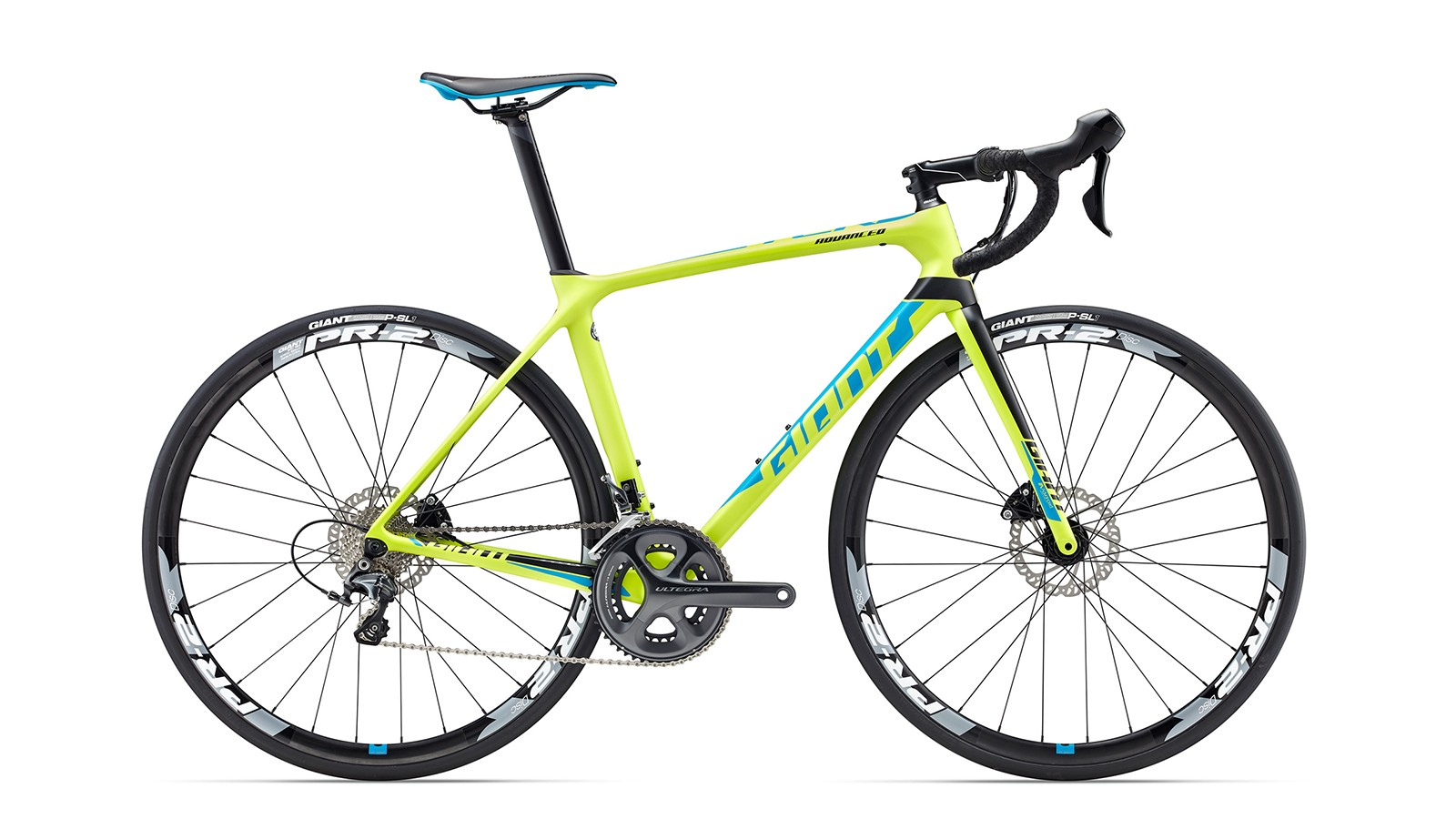 The TCR Advanced Disc series has the same composite frame as the TCR Advanced Pro Disc, but with a composite fork and hybrid OverDrive steerer tube