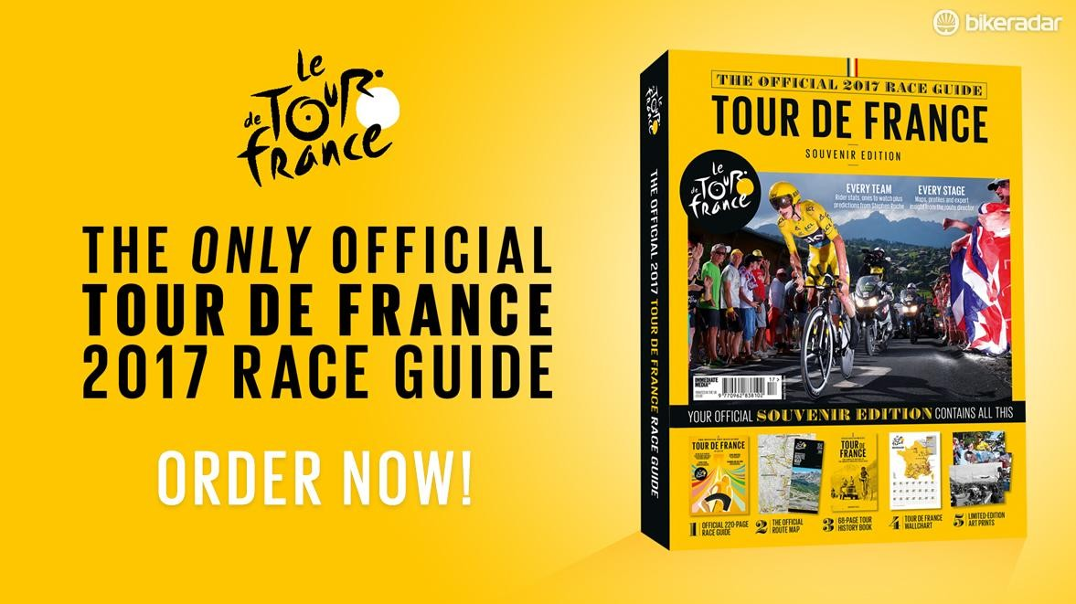 Order your Official 2017 Tour de France Race Guide today!