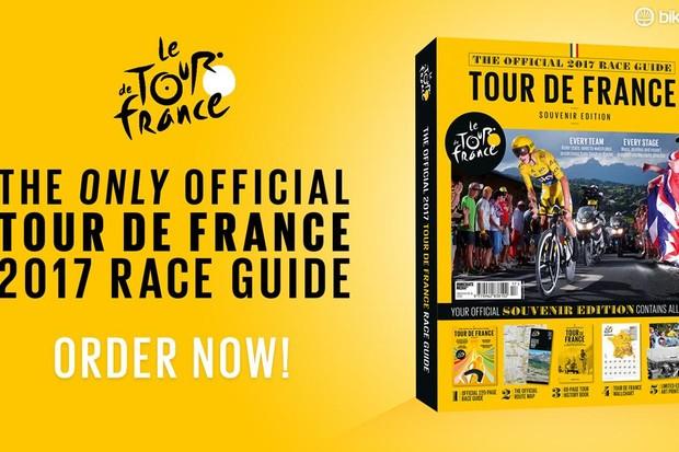 Order your Official 2017 Tour de France Race Guide today!
