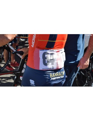 Sportful jerseys feature a see-through pocket on the back to avoid having to pin on numbers