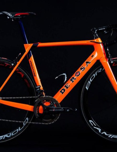 DeRosa's Protos road bike gets substantial weight savings for 2017 — here's the Team Issue version for Nippo Fantini