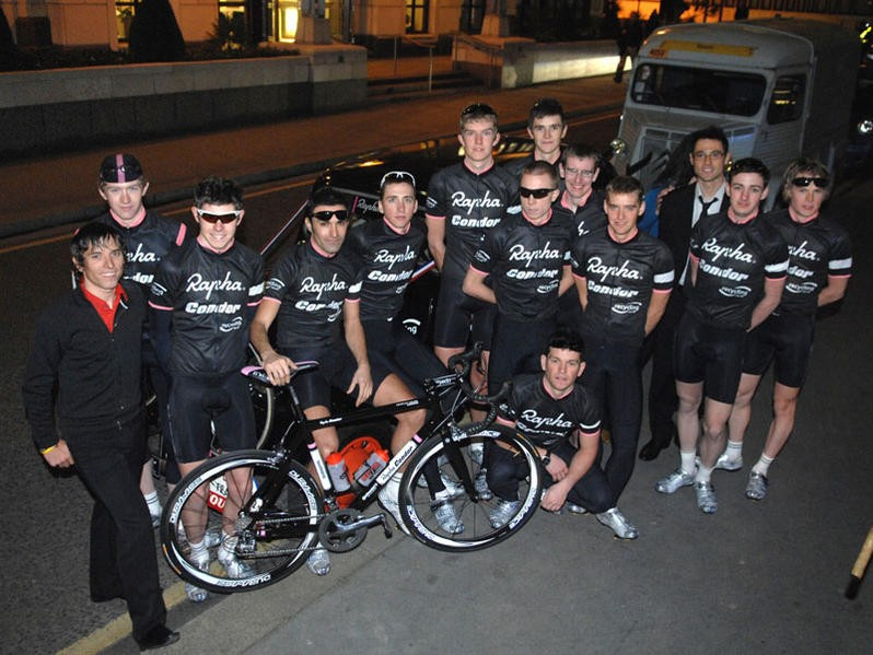 Rapha Condor are going to need a bigger group shot.