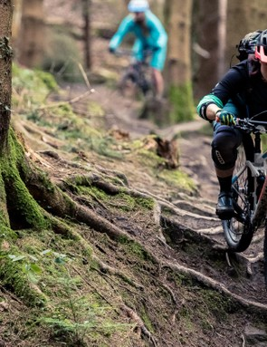 Overcome that mental block and you'll fly through, over and past those tricky trail features