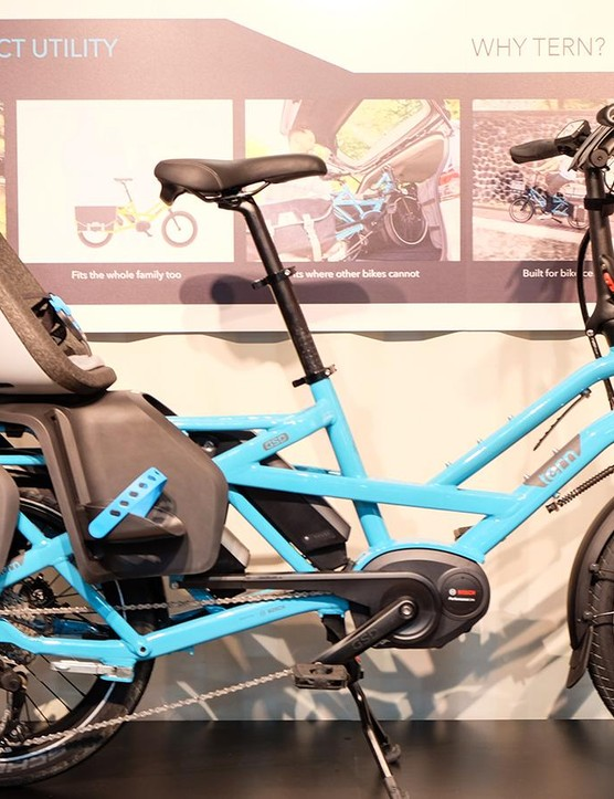 Tern's new compact utility e-bikes can haul groceries or your family