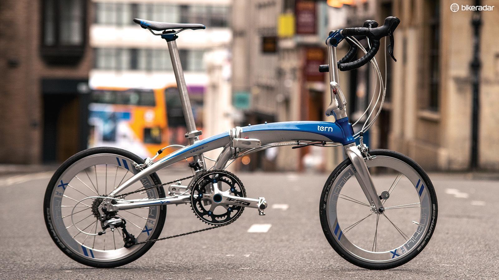 Tern's Verge X18 folding bike