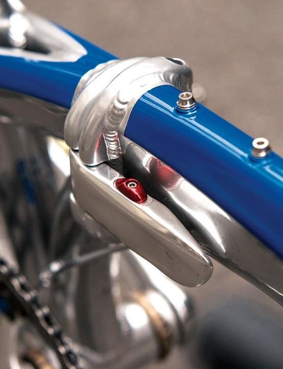 Tern's tig-welded aluminium frame