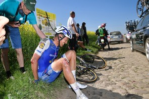 A failed pre-production component in Niki Terpstra's Specialized Roubaix was to blame for his crash at this year's Paris-Roubaix