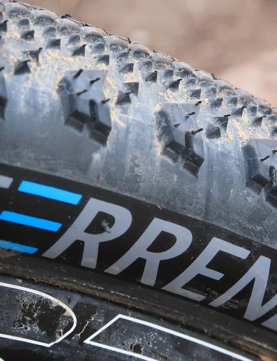 Terrene isn't a well-known tire brand, but this company is designing quality tread patterns, including the Elwood gravel tire