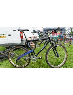 The 9500 was Trek's first foray into MTB full suspension