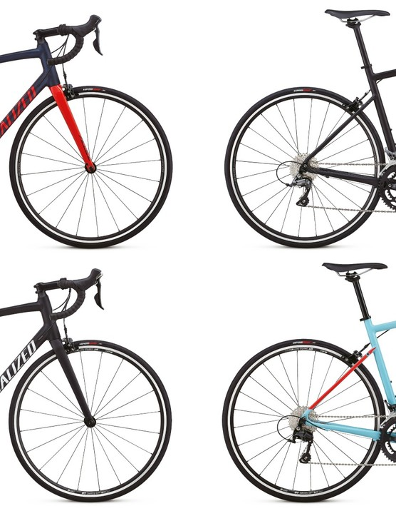 The Allez line is one of the most popular in Specialized's road lineup