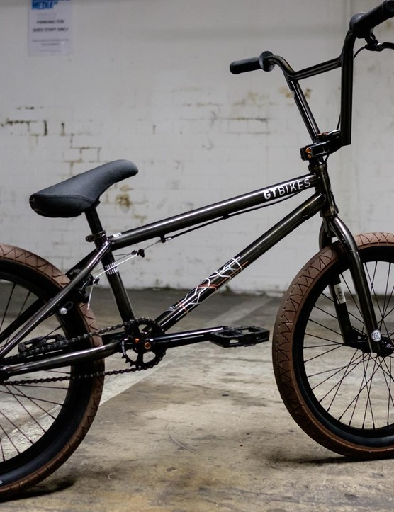 The BK is the signature bike of freestyle pro Brian Kachinsky