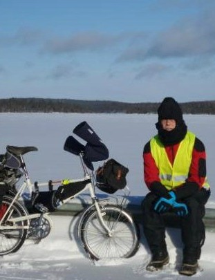 For his latest book, British author Tim Moore decided to ride 10,000km along the newly-created Iron Curtain trail
