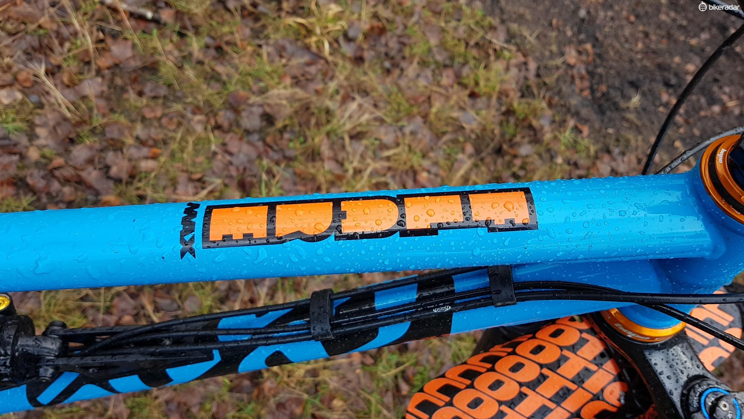 The FlareMAX is a 29er with 120mm of rear wheel travel, though riding it you might not guess it