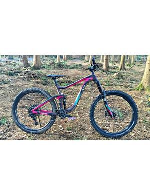 The Liv Hail 1: an aluminium-framed burley bike for technical terrain and tough descents