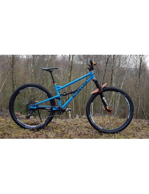 The new Cotic FlareMAX is a 120mm trail bike built mostly from steel