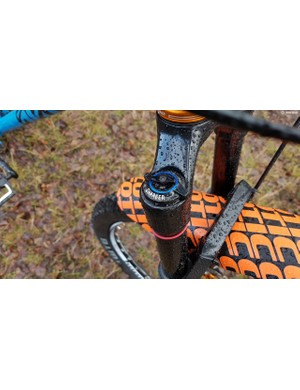 The RockShox Pike RCT3 features the new Charger 2 damper for improved control