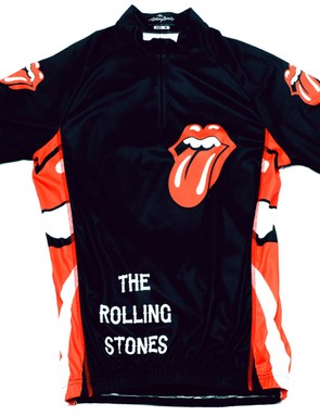 The Rolling Stones cycling jersey from No Quarter Sport