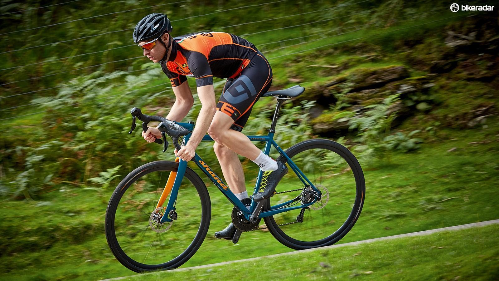 The Stooshie's relaxed ride makes for versatile, low stress, varied terrain conquering
