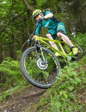 The Whyte 901 climbs as tenaciously as it descends