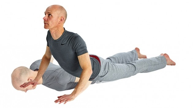 The cobra is one exercise that can help strengthen your core