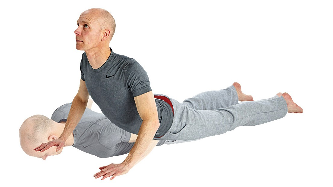 This stretch helps to keep the lower back flexible and strong