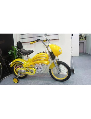 This is the Candir 'Classic sport moto bike fashion' - would you let your kid ride it?