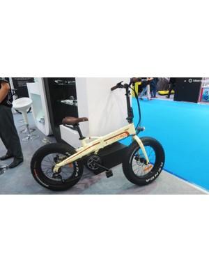 MCC's Electro FBB. It's like the designer had all the ideas, all at once - fat bike- check, folding bike - check, e-bike - check