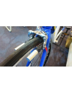 More braking bad. This not exactly aesthetic bit of engineering is an anti-lock system for your front brake