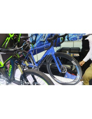 Apro's disc e-road shows that the company can do a more understated finish
