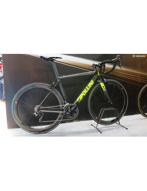 Cipollini's bikes can be loud, but we loved this more understated finish (even with the fluro graphics)