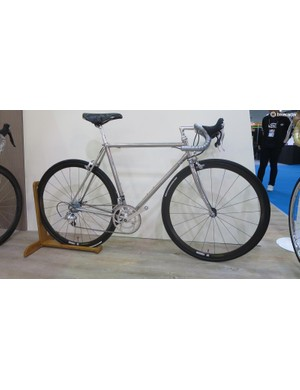 As did this stainless steel race machine
