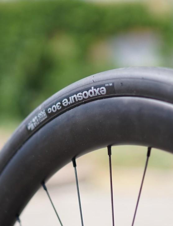 Thesis specs WTB rubber, regardless of wheel size