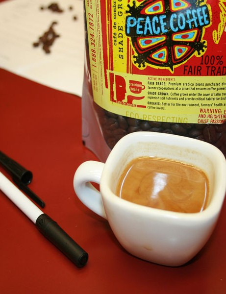 The winner...Peace Coffee.