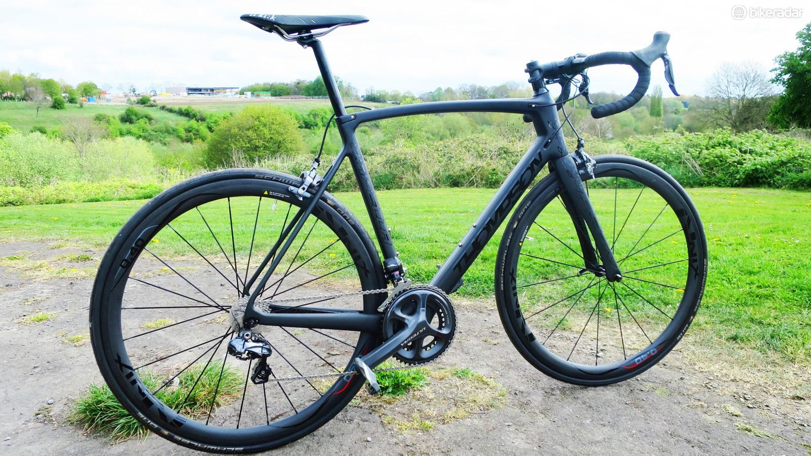 Our test bike is a seriously steathly bike, but with 36 different colours available in a mind-boggling mix of all of them you can create your own unique finish and all at no extra cost