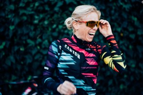 Leah Thorvilson was the first Zwift Academy graduate, signing with Canyon//SRAM in 2017
