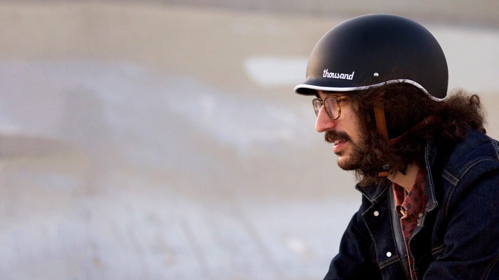 Thousand's new bike helmet uses retro styling and some clever features