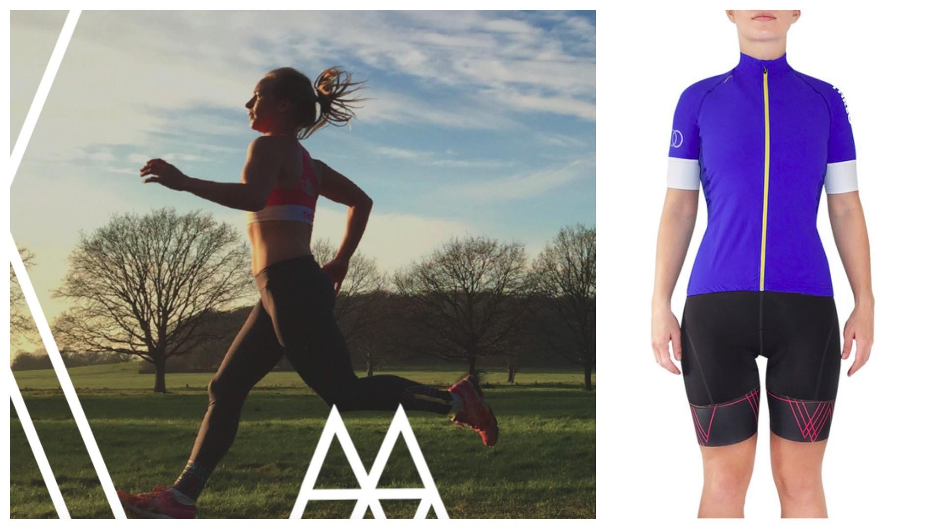 Threo: triathlon kit for women designed by women