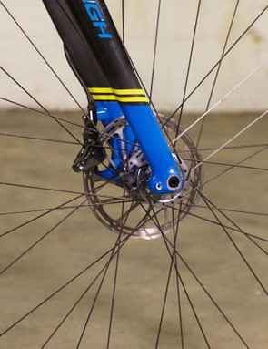 The bike comes stock with American Classic's Hurricane wheelset
