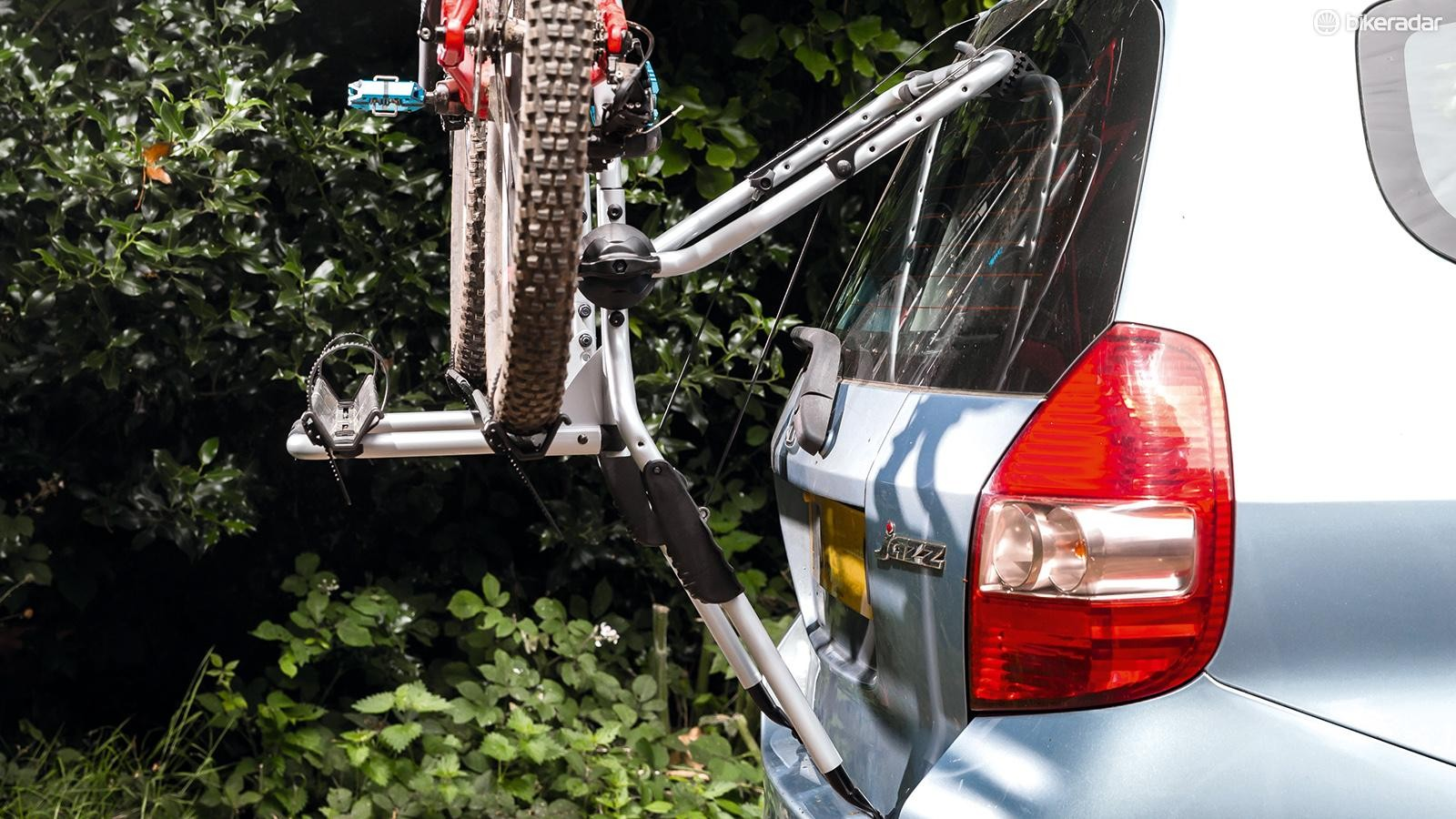 The Thule Clipon 9106 bike rack