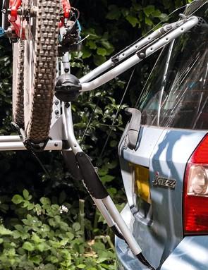 The Thule Clipon 9106 bike rack