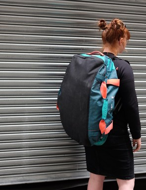 While I wouldn't recommend a long hike with it on and full, the Chasm is the most comfy bag for long walks I've used