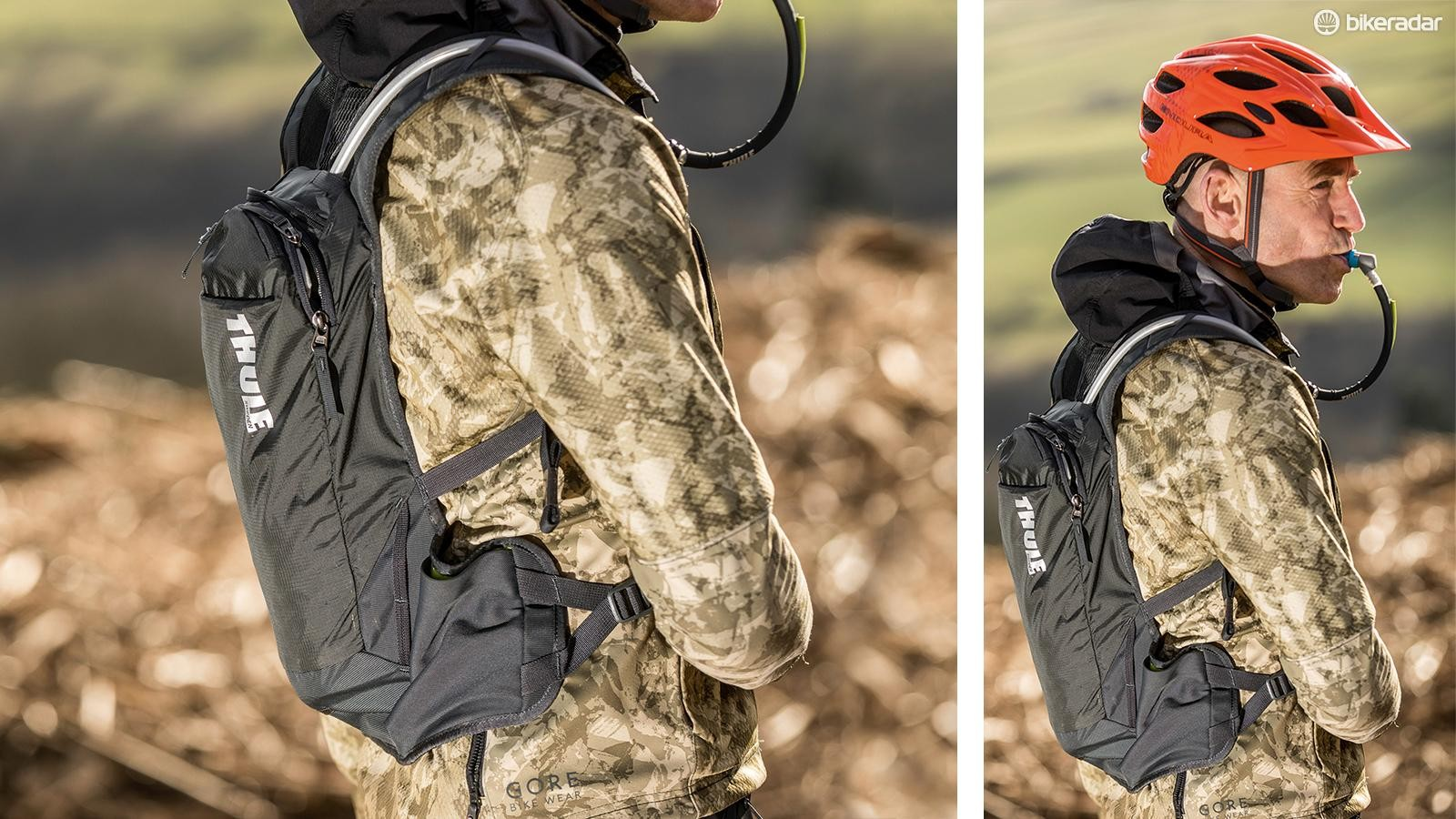 Hydration packs come in a variety of different sizes to suit everything from short rides to multi-day epics
