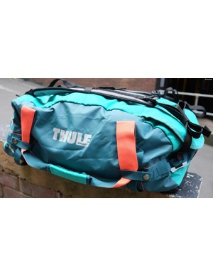 The Thule Chasm 70L is a bright, tough and very useful bag