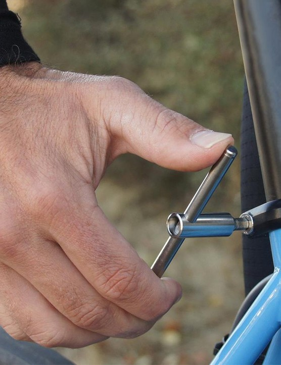 Spurcycle's new Ti Tool is a compact, T-handled multi-tool with replaceable bits