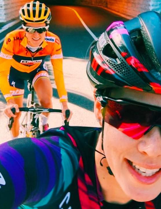 Australian racer Tiffany Cromwell took over the BikeRadar Instagram account for International Women's Day