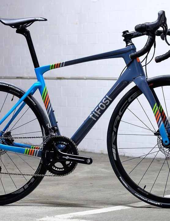 TIfosi recently sent us through its SS26 endurance road bike
