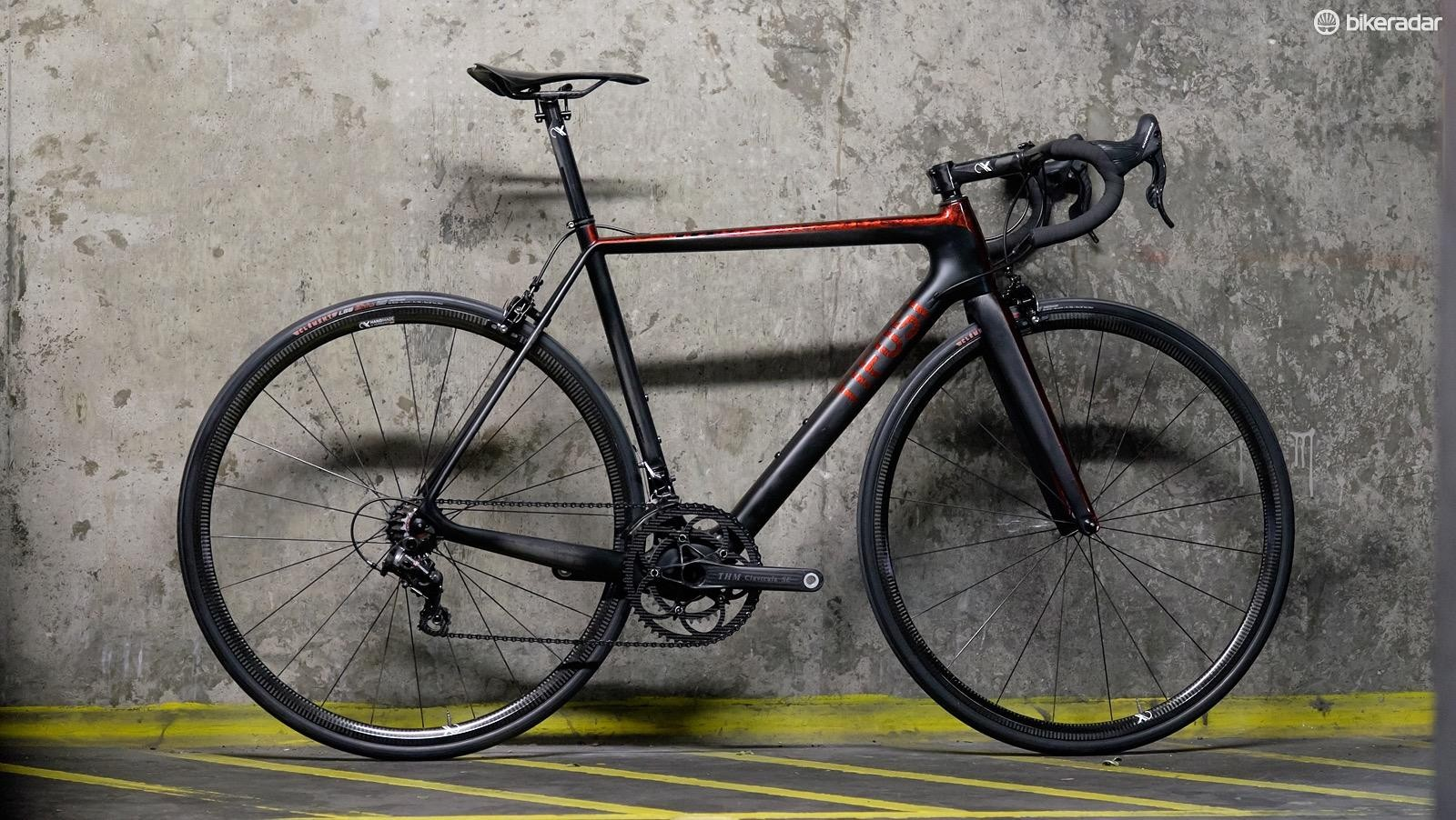 This Tifosi may look like a custom build but it's actually ready to order on the company's website
