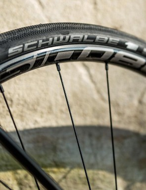The Cavazzo will take up to a 35c tyre